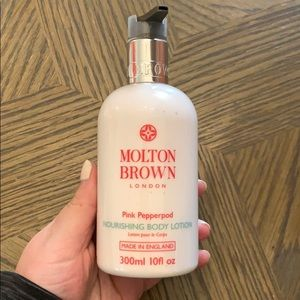 Brand new Milton Brown Pink Pepperpod Body Lotion